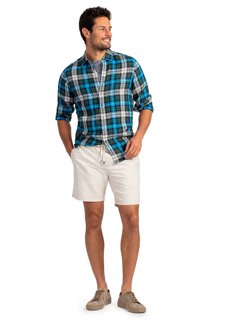 Rodd and Gunn Springsflat Shirt | Sea - Jordan Lash Charleston