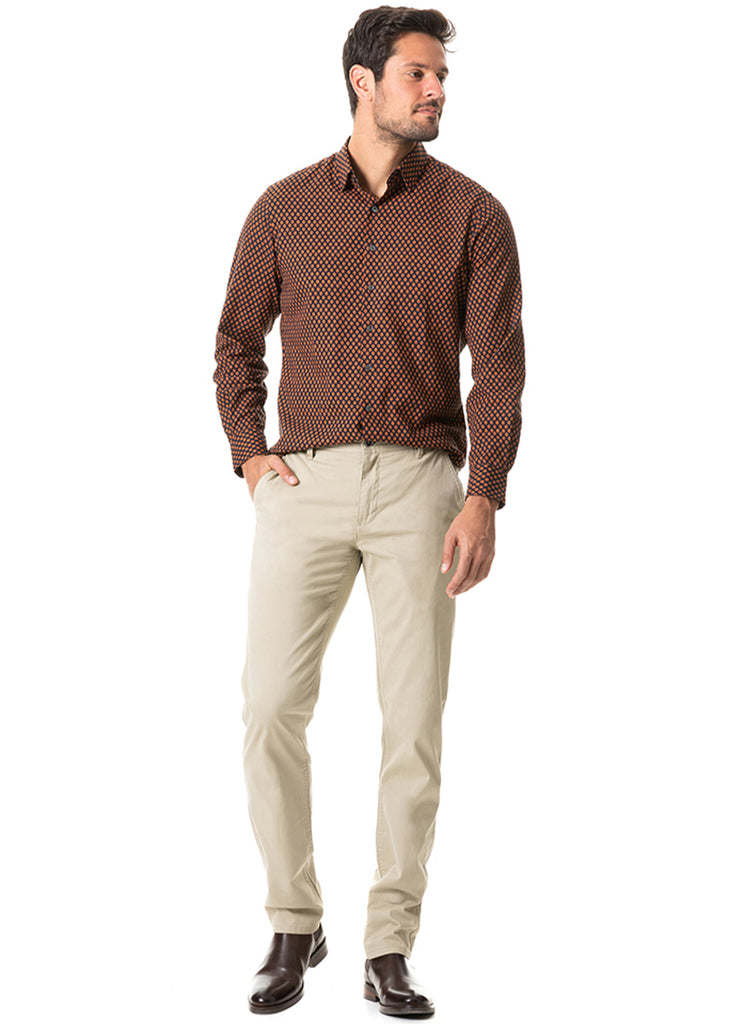 Rodd and Gunn Middle Valley Shirt | Marine - Jordan Lash Charleston
