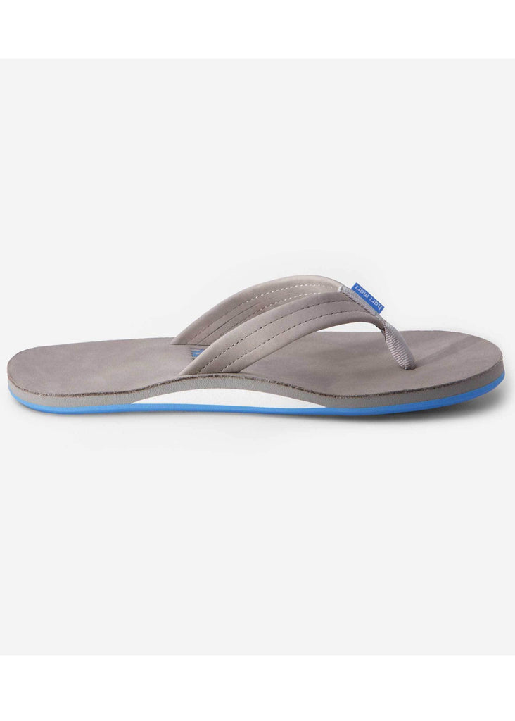 Hari Mari Fields Flip Flops | Light Gray and Sky Blue - Jordan Lash Charleston