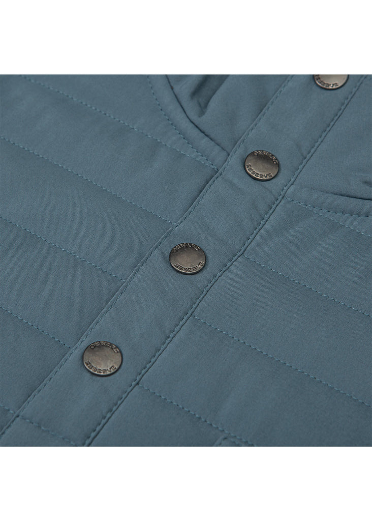 Onward Reserve Crosby Quilted Pullover | Bluestone - Jordan Lash Charleston
