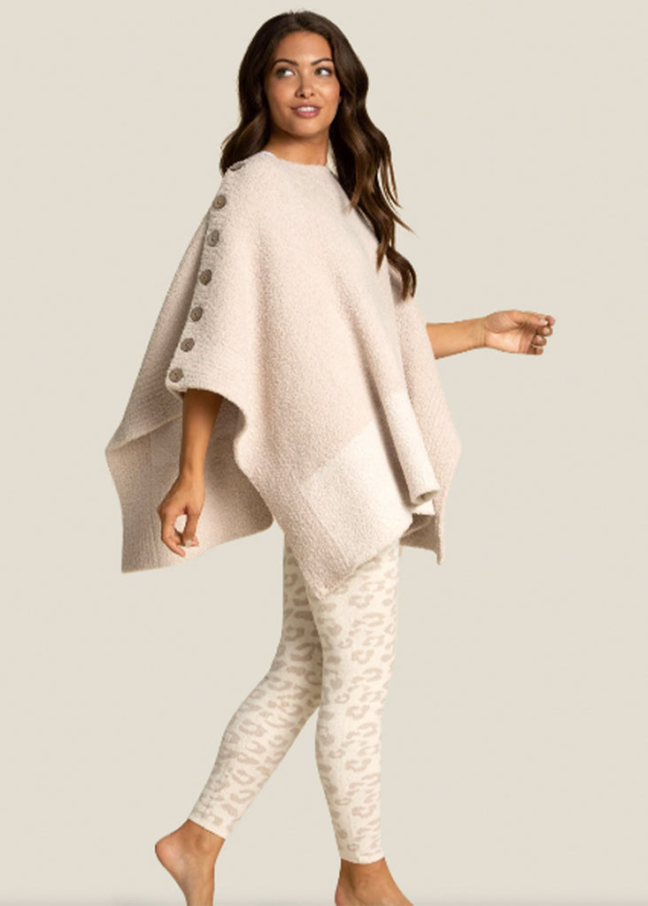 Barefoot Dreams Cozychic Ultra Lite Leopard Legging | Cream and Stone - Jordan Lash Charleston