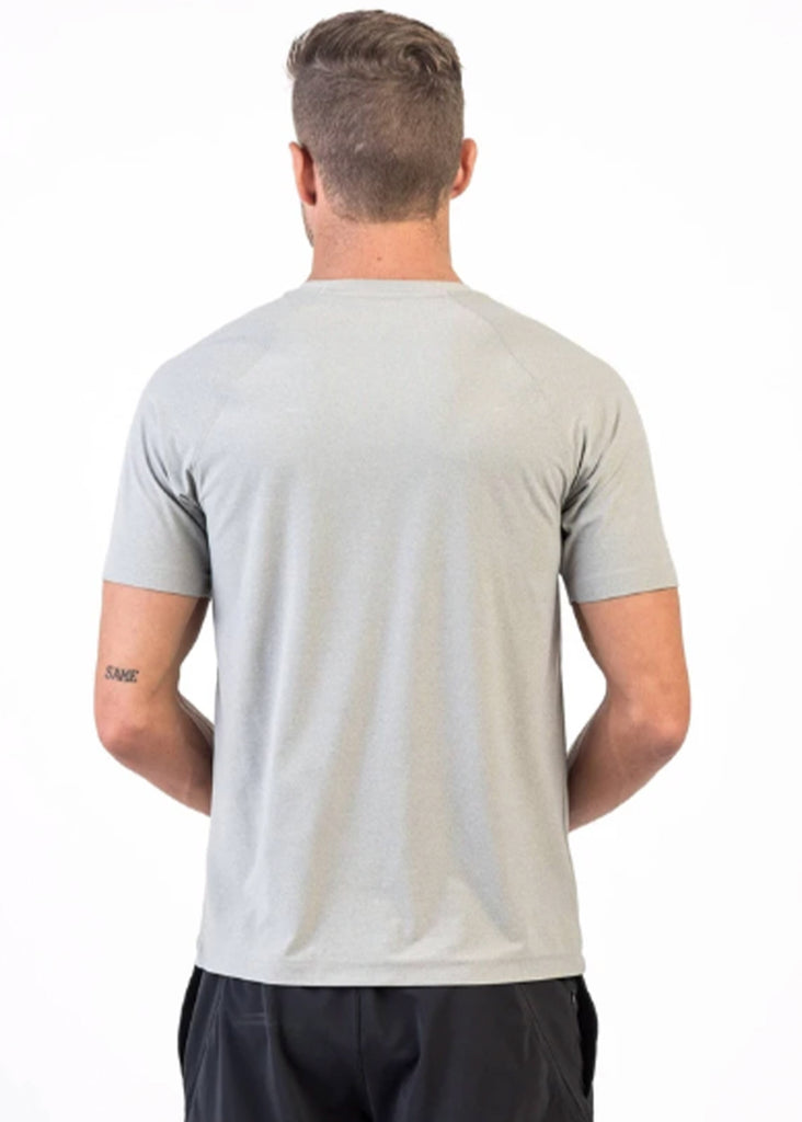 Rhone Reign Short Sleeve | Light Gray Heather - Jordan Lash Charleston