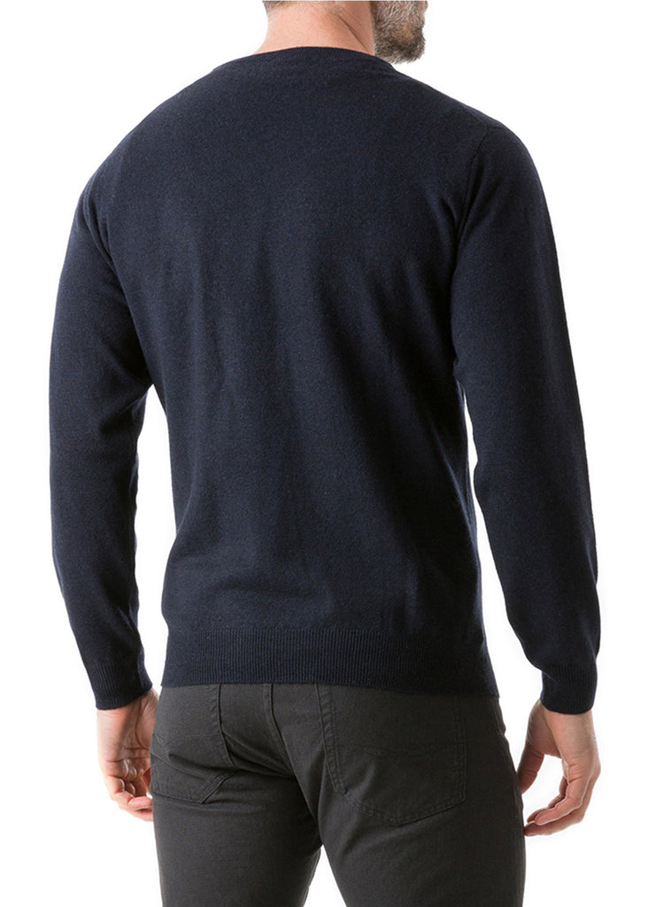 Rodd and Gunn Queenstown Sweater | Midnight - Jordan Lash Charleston