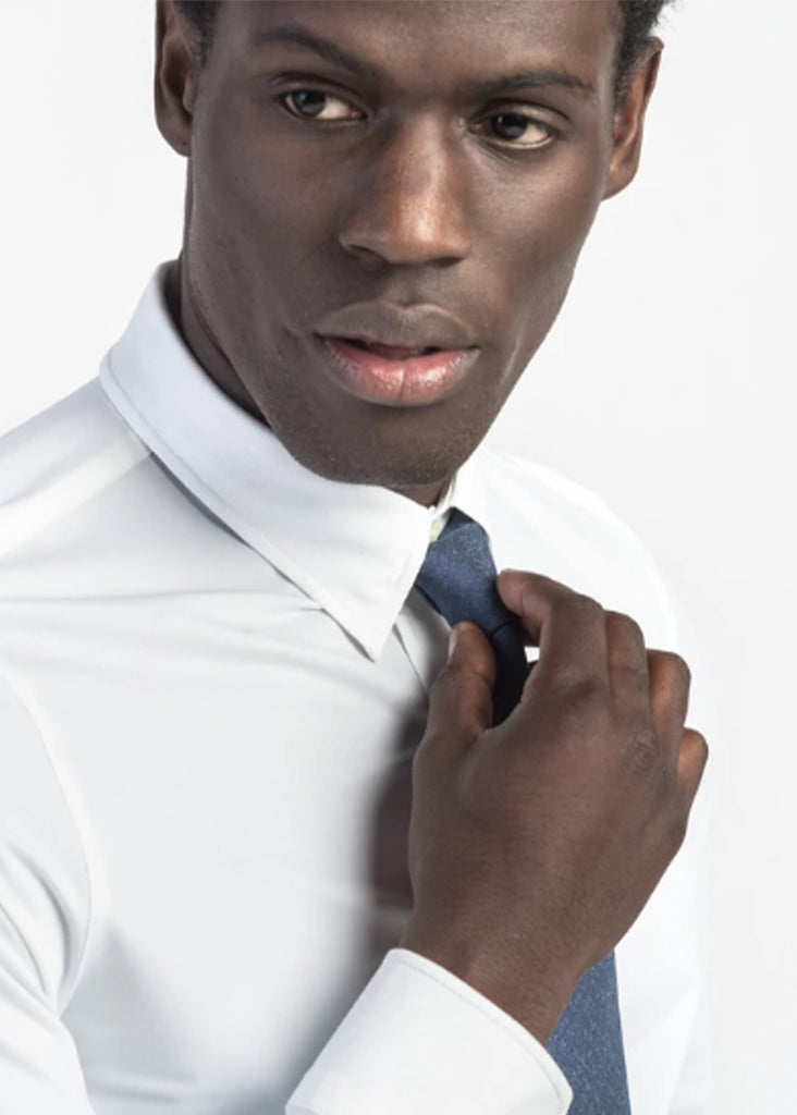 Rhone Commuter Dress Shirt | Bright White - Jordan Lash Charleston