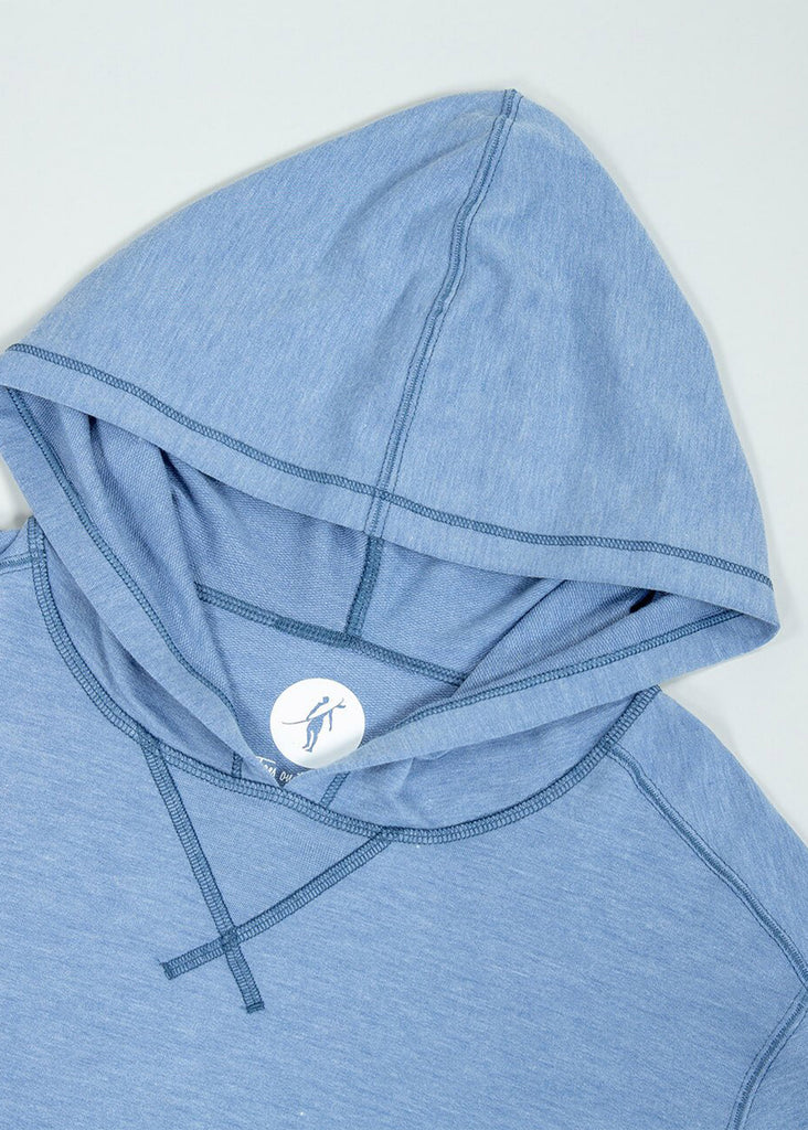 Toes On The Nose Sea Silk Schooner Long Sleeve Hoodie | Pacific - Jordan Lash Charleston