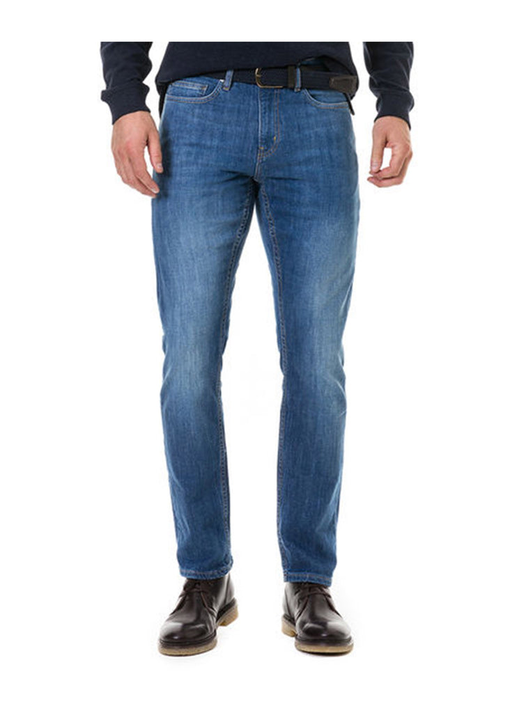 Rodd and Gunn Cranfield Straight Fit Jean | Denim - Jordan Lash Charleston