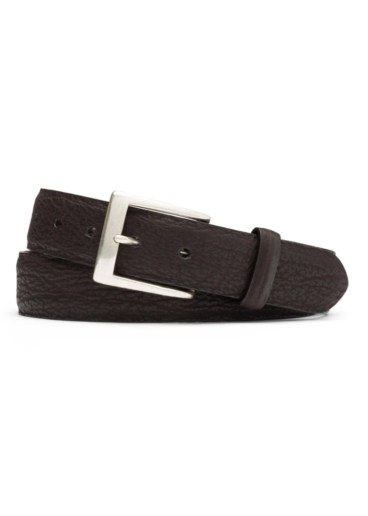 W. Kleinberg Shark Belt | Chocolate - Jordan Lash Charleston