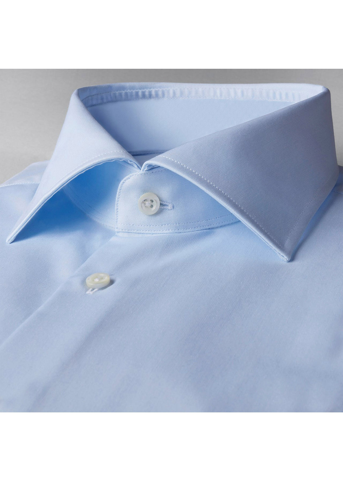 Stenstroms Light Blue Fitted Body Shirt In Superior Twill