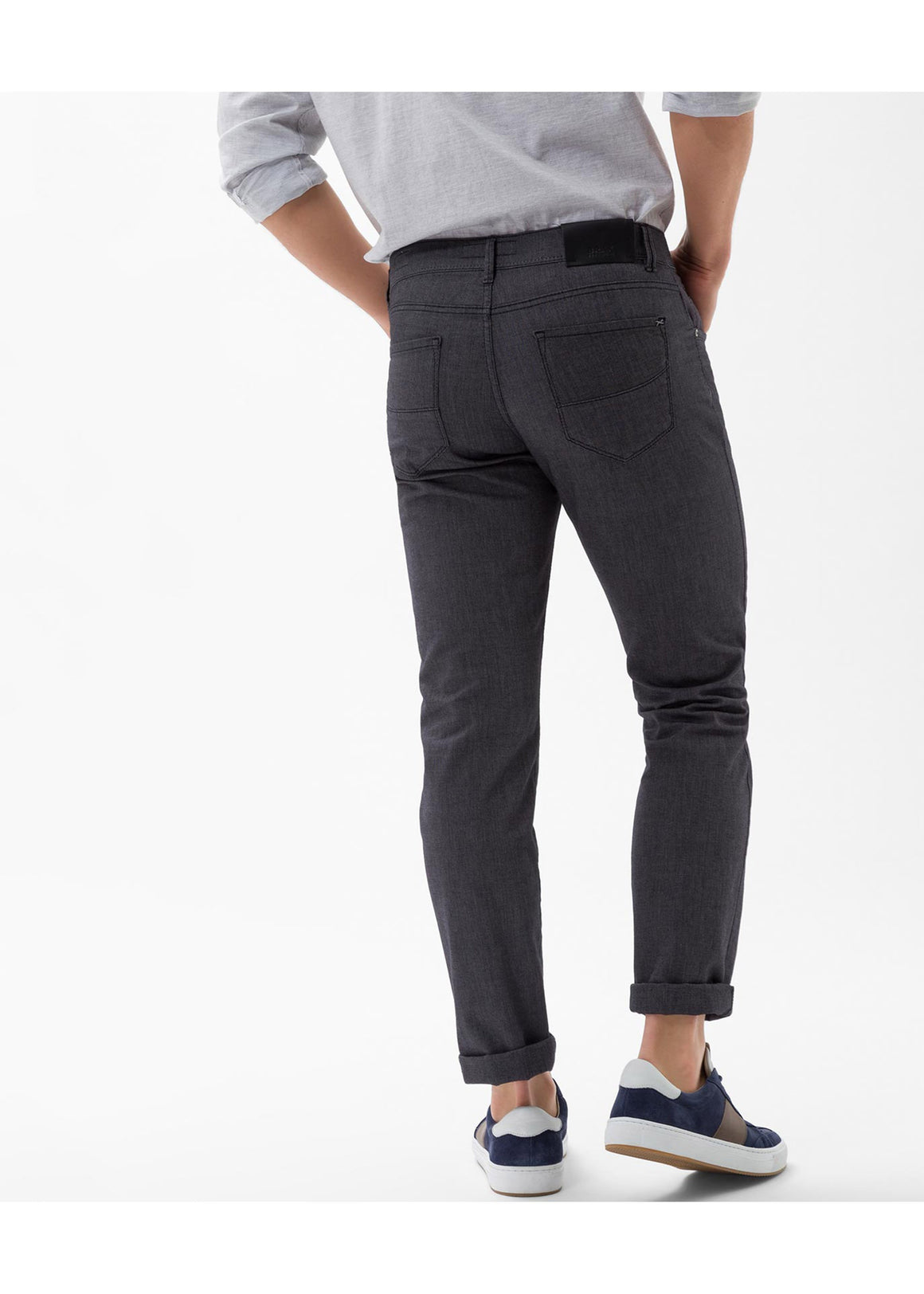 Brax Two Tone Cooper Fancy Five Pocket Pant | Street