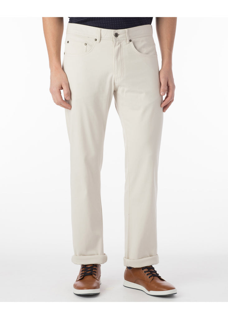 Ballin Pima Cotton Perma Color Five Pocket Crescent Pants | Bone - Jordan Lash Charleston
