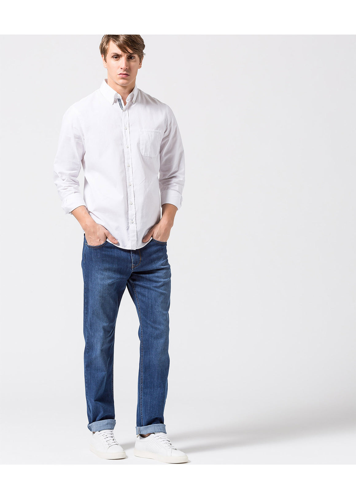 Brax Masterpiece Cooper Fancy Denim | Regular Blue