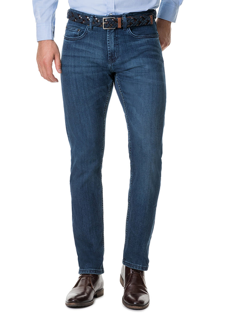 Rodd and Gunn Briggs Straight Fit Jean | Denim - Jordan Lash Charleston