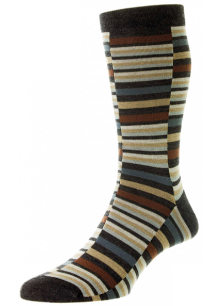 Pantherella Brockley Sock | Charcoal - Jordan Lash Charleston