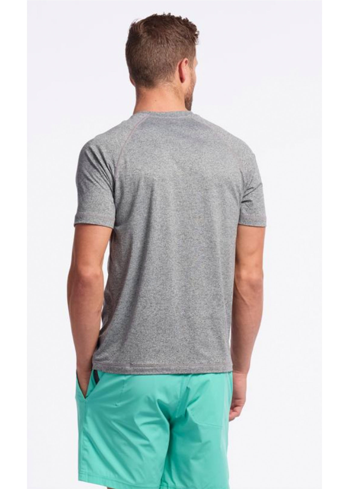 Rhone Short Sleeve Reign Tee | Legacy Grey Heather