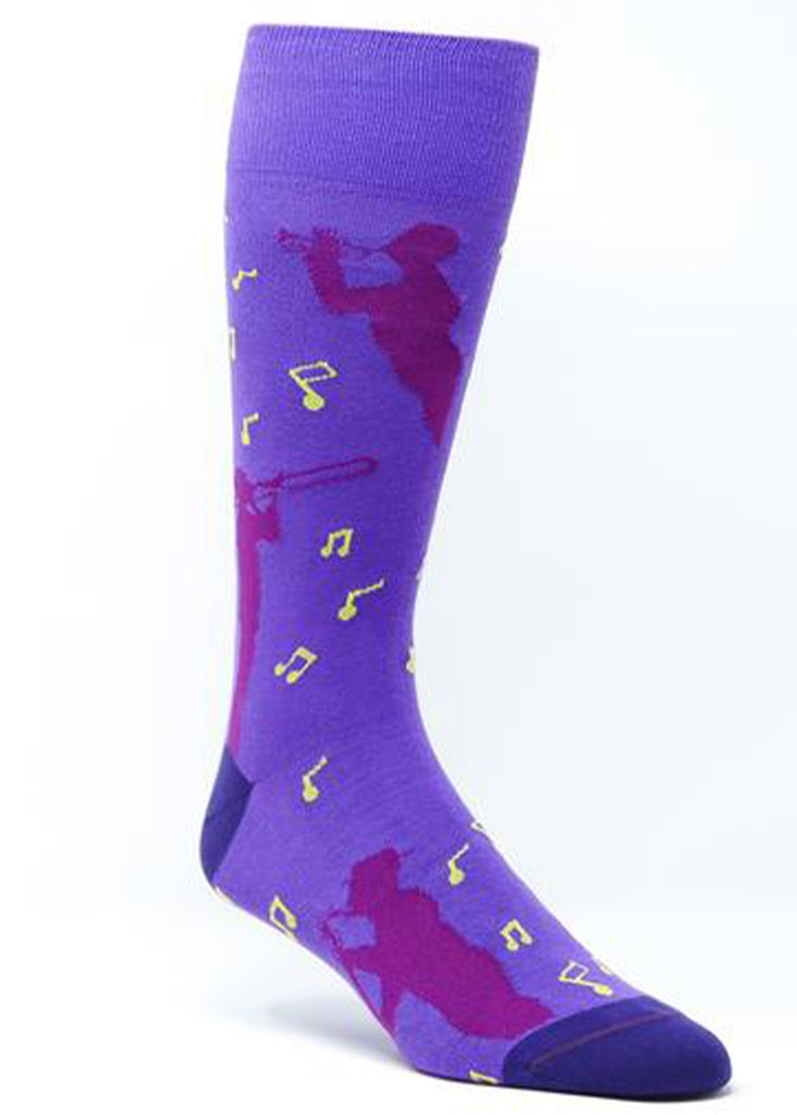 Ell & Atty Musicians Sock | Purple - Jordan Lash Charleston