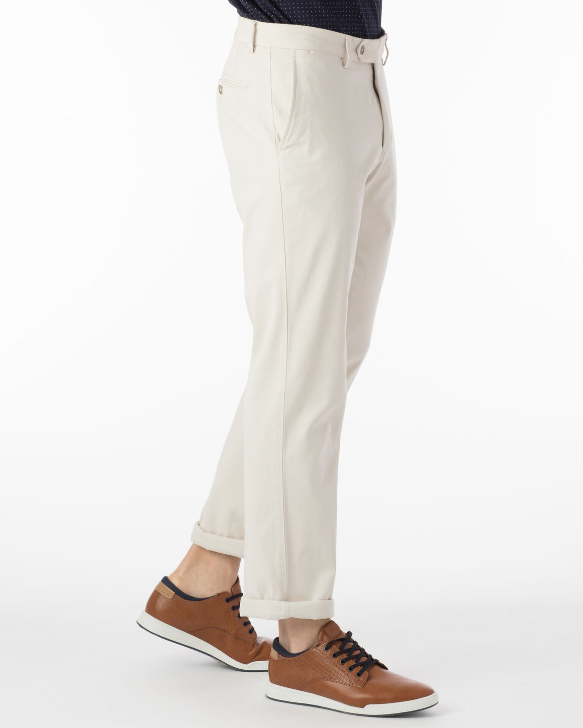 Ballin Pima Cotton Perma Color Atwater Pant | Bone