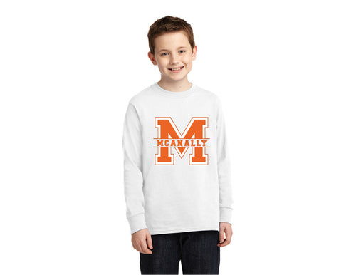 Mcanally Youth Long Sleeve T Shirt