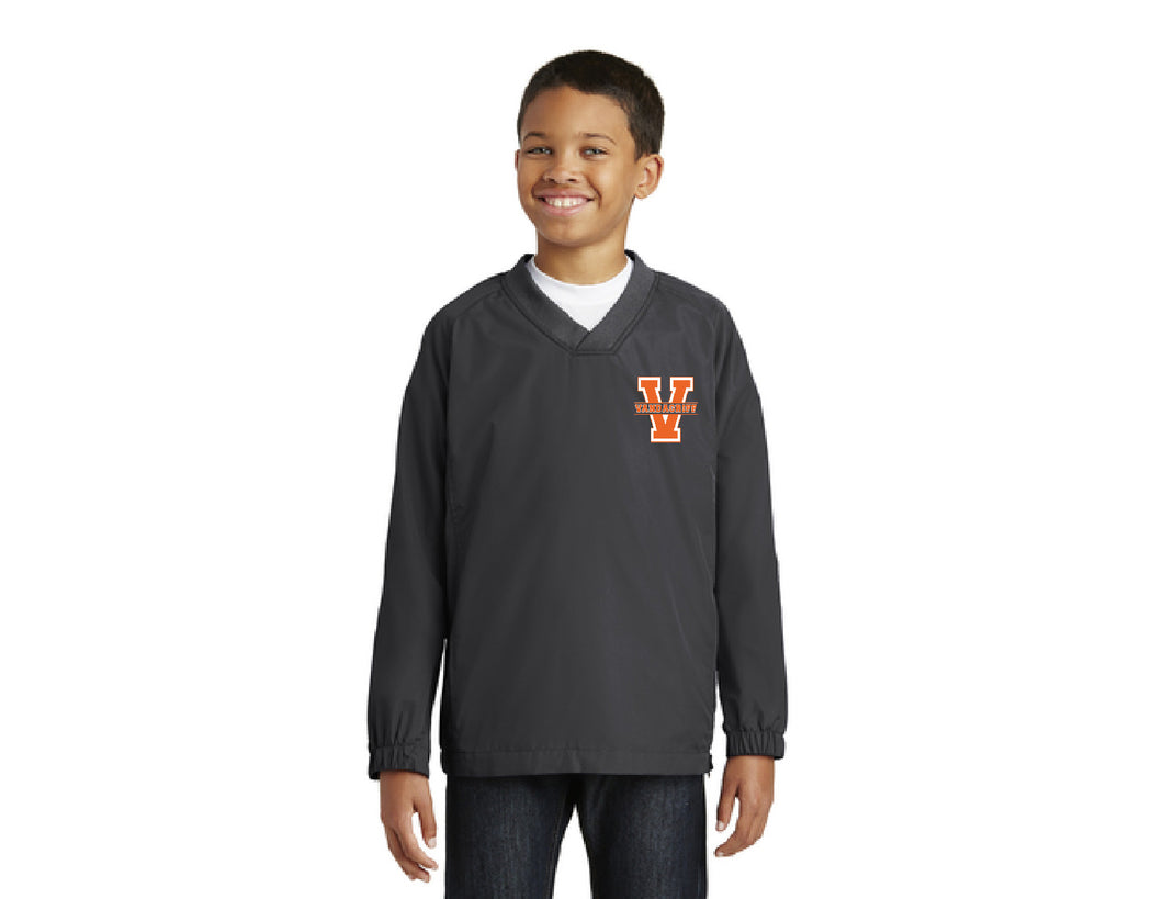 Vandagriff  Youth V-Neck Raglan Wind Shirt
