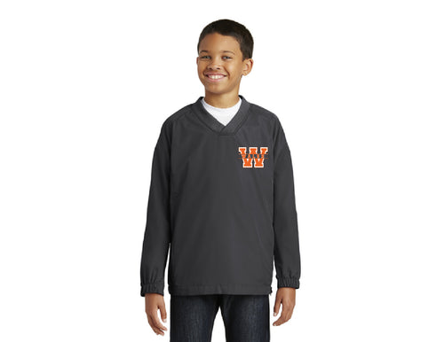Walsh Youth V-Neck Raglan Wind Shirt