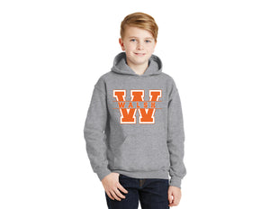 Walsh Gildan Youth Hooded Sweatshirt