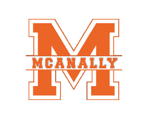 Mcanally Vinyl Sticker