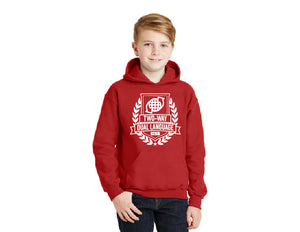 Two Way Dual Language Collection Gildan® - Youth Heavy Blend™ Hooded Sweatshirt