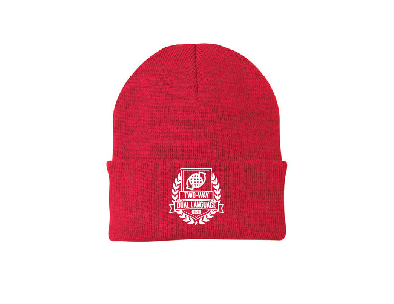 Two Way Dual Language Collection ADULT BEANIE