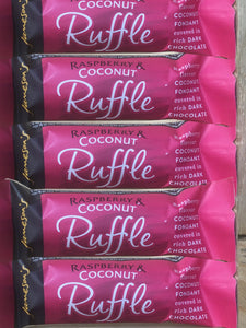 5x Jameson's Ruffle Raspberry & Coconut Chocolate Bars (5x26g)