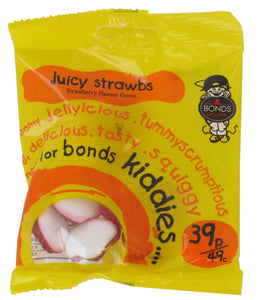Bonds Juicy Strawberries 55g