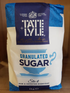 Tate & Lyle Granualted Sugar 1kg
