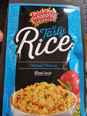 Golden Wonder Rice Chicken Flavour 100g