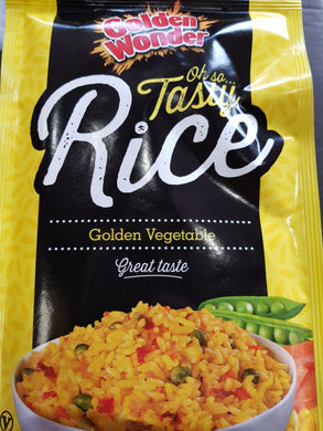 Golden Wonder Rice Vegetable 100g