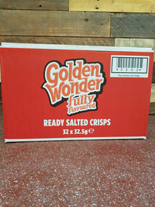 Golden Wonder Ready Salted 32x 32g