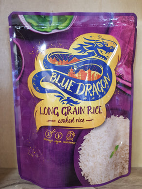 Blue Dragon Long Grain Rice Microwave 250g