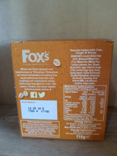12x Boxes of Fox's 5x Granola Cookies Honey & Ginger 110g