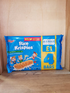 Kellogg's Rice Krispies 4 Bars
