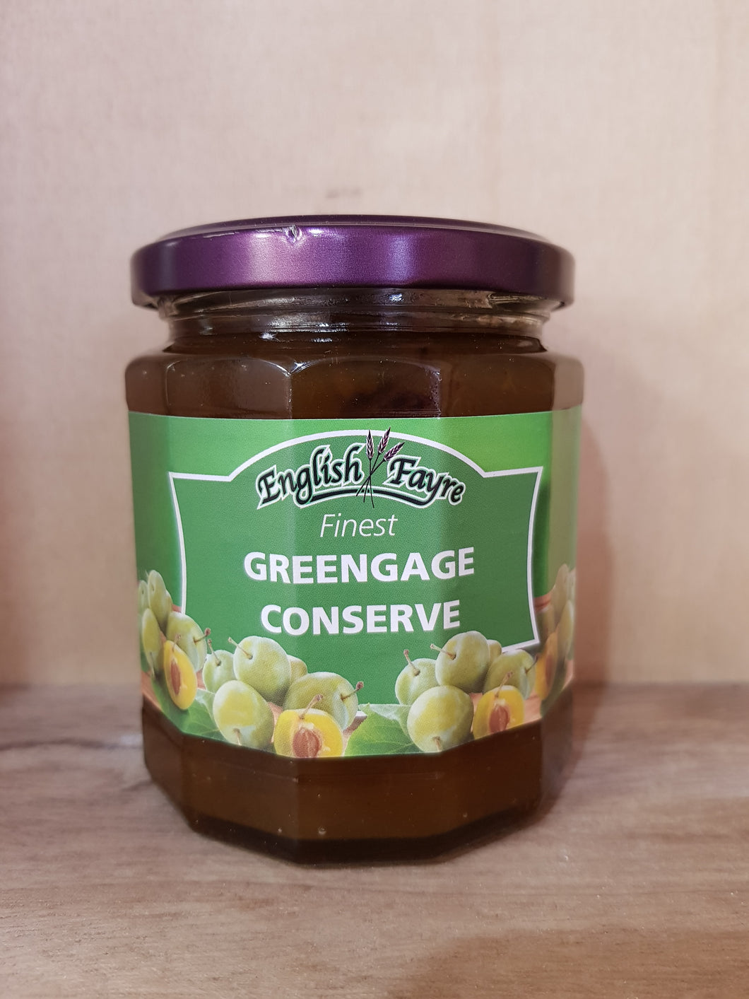 English Fayre Finest Greenage Conserve 340g Jar