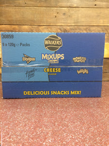 Walkers Mixups Cheese 9x120g Box