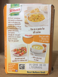 Knorr Flavour Pot Curry 4x23g