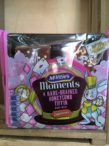 McVitie's Moments Limited Edition 4 Hare-Brained Honeycomb Tiffin Cake Bars