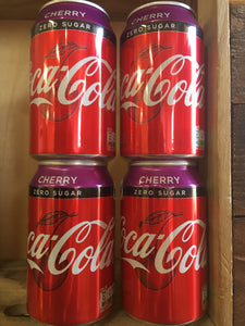 4x Coca Cola Zero Cherry (4x330ml)