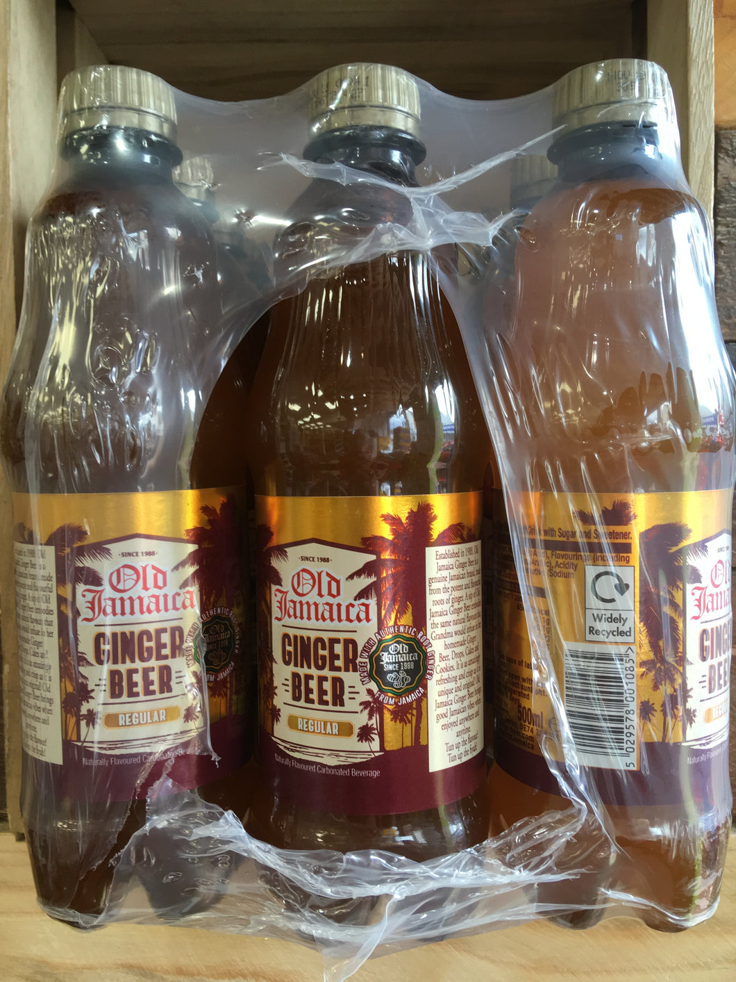 12x Old Jamaica Ginger Beer (12x500ml)