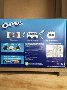 Oreo Lunchbox Pack 6x 2xBiscuit Pack 132g