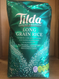 Tilda Long Grain Rice 1KG