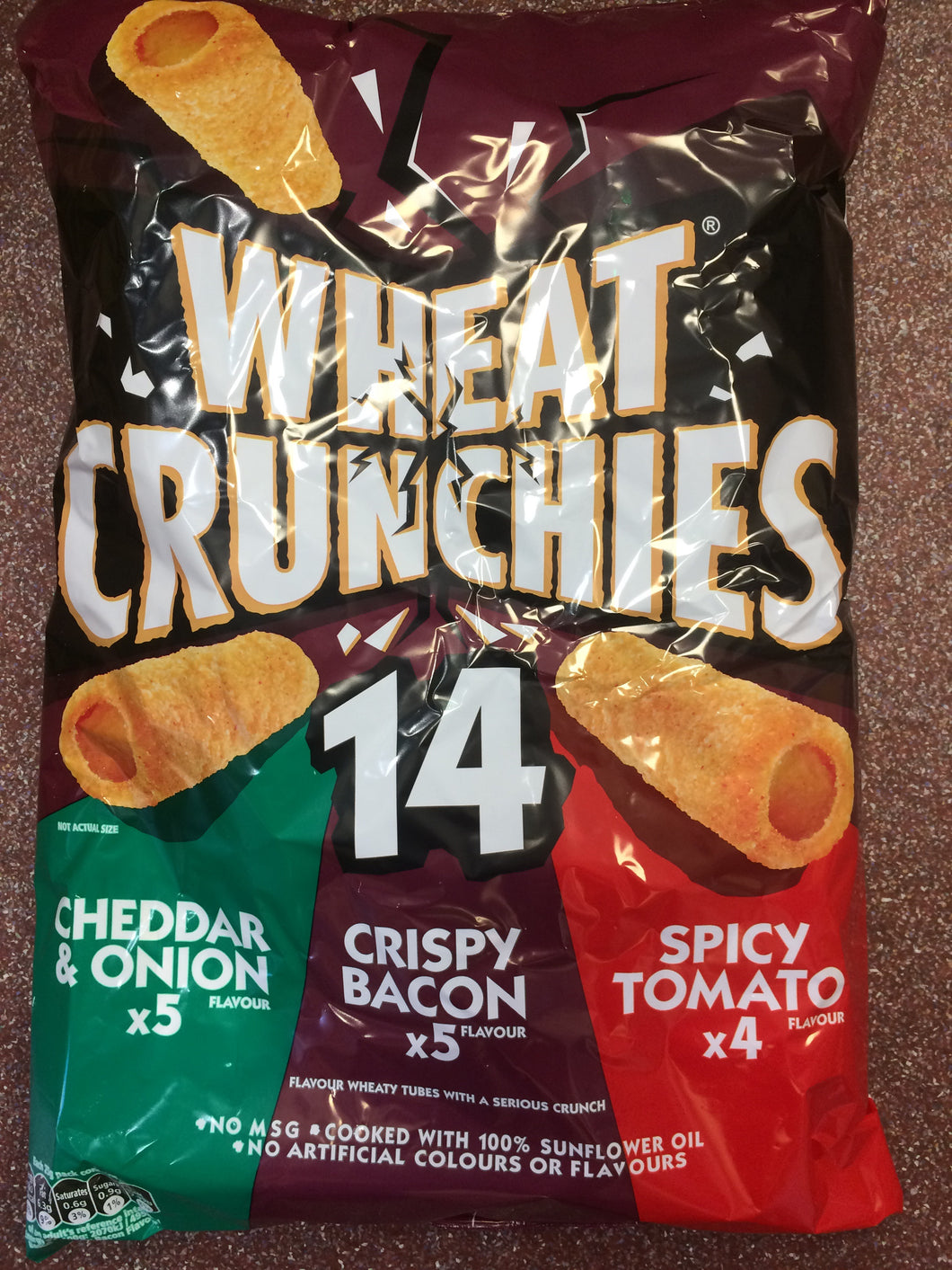 Wheat Crunchies Assorted Pack of 14 x 20g
