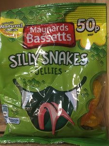 Maynards Bassetts Silly Snakes Jellies 70g