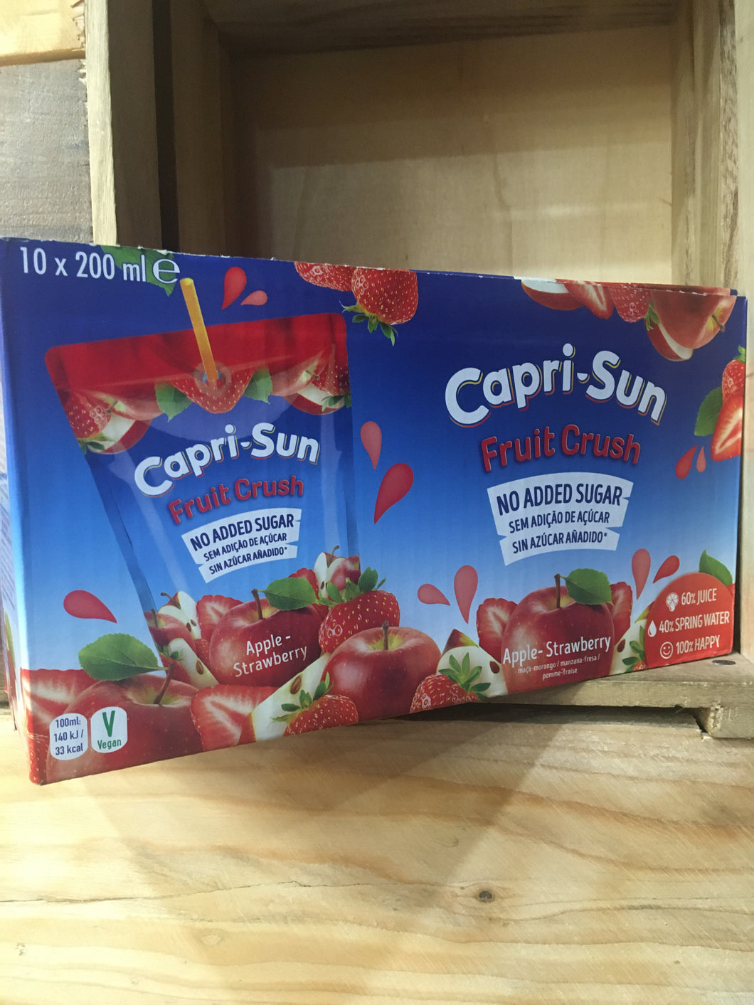 Capri-Sun Apple & Strawberry 10x200ml