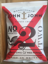 John John Sweet Chilli & Red Pepper Crisps 40g