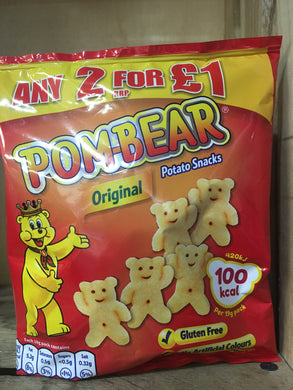Pom-Bear Original Potato Snack 19g