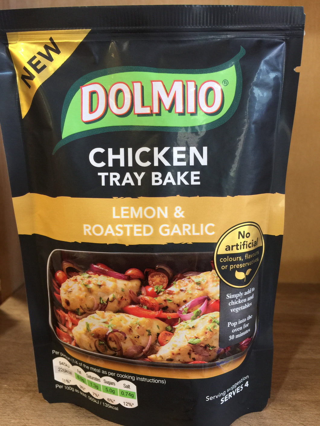 Dolmio Chicken Tray Bake Lemon & Roasted Garlic 150g